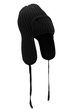 Женский шапка из шерсти и кашемира TAK.ORI черного цвета, арт. HTK30041WC030AW20 | Фото 1