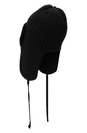 Женский шапка из шерсти и кашемира TAK.ORI черного цвета, арт. HTK30041WC030AW20 | Фото 2
