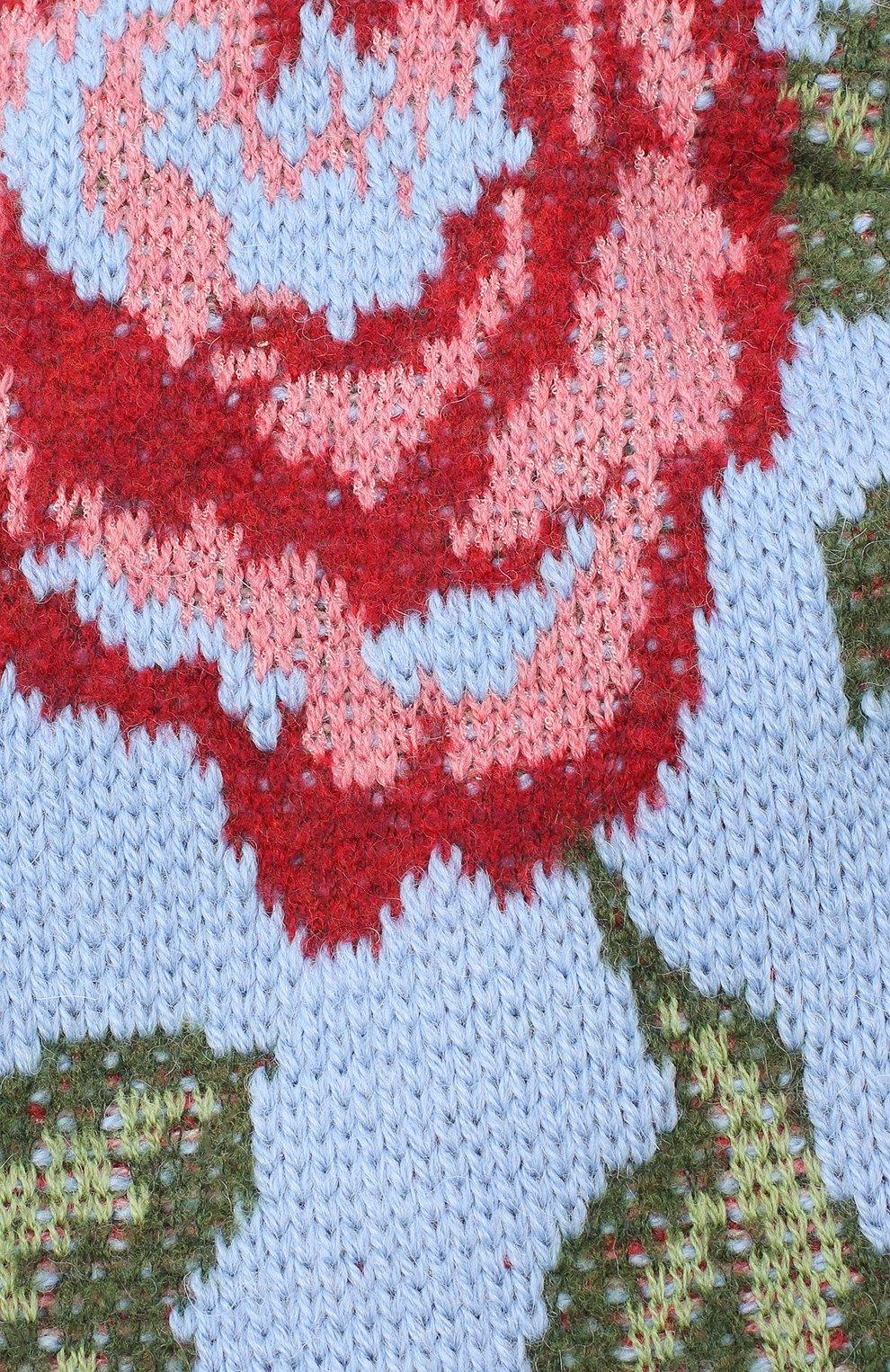 Женская шапка TAK.ORI голубого цвета, арт. HTK51042W0090AW20 | Фото 3 (Материал: Текстиль, Шерсть, Синтетический материал)