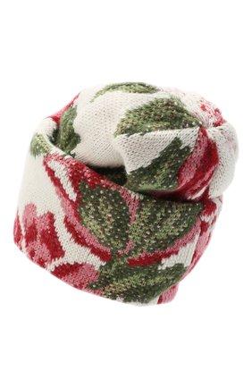 Женская шапка TAK.ORI белого цвета, арт. HTK51042W0090AW20 | Фото 2