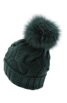 Кашемировая шапка Courchevel | Фото №2