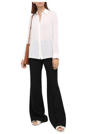 Женская шелковая рубашка GABRIELA HEARST белого цвета, арт. 420117 S032   Фото 2