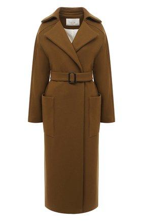 Женское шерстяное пальто TELA хаки цвета, арт. 05 1976 01 9901 | Фото 1