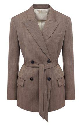 Женский шерстяной жакет TELA коричневого цвета, арт. 06 4667 01 0116 | Фото 1