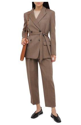 Женский шерстяной жакет TELA коричневого цвета, арт. 06 4667 01 0116 | Фото 2