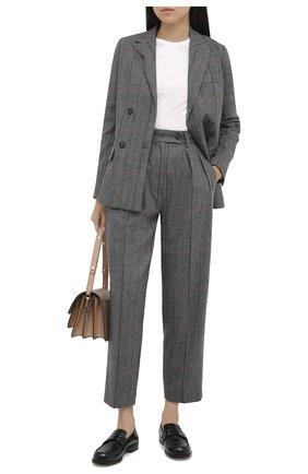 Женские брюки TELA серого цвета, арт. 14 7988 01 0122 | Фото 2