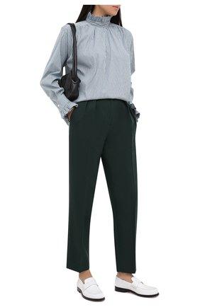 Женские брюки TELA темно-зеленого цвета, арт. 14 7995 01 0130 | Фото 2