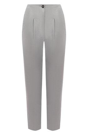 Женские шерстяные брюки TELA серого цвета, арт. 14 8006 01 0133 | Фото 1