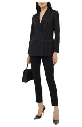 Женские брюки ICEBERG черного цвета, арт. 20I I2P0/B041/5395 | Фото 2