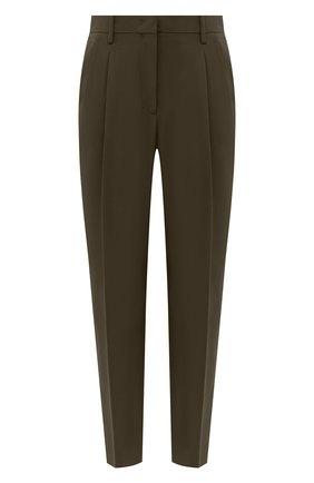 Женские брюки N21 хаки цвета, арт. 20I N2M0/B081/5336 | Фото 1