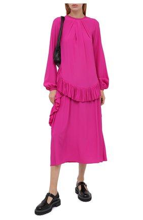 Женское платье N21 фуксия цвета, арт. 20I N2M0/H151/5111 | Фото 2