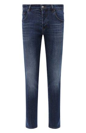 Мужские джинсы DON THE FULLER темно-синего цвета, арт. DHW0/MILAN0/DTF/G0 | Фото 1