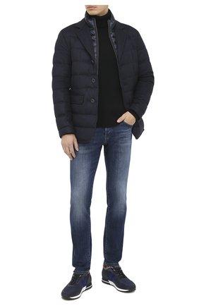 Мужские джинсы DON THE FULLER темно-синего цвета, арт. DHW0/MILAN0/DTF/G0 | Фото 2