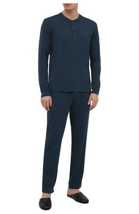 Мужская пижама ERMENEGILDO ZEGNA синего цвета, арт. N6H031040 | Фото 1