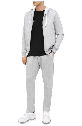 Мужской брюки ERMENEGILDO ZEGNA серого цвета, арт. N6N000990 | Фото 2