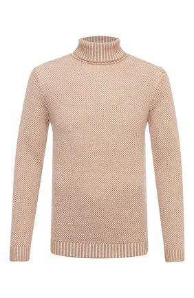 Мужской шерстяной свитер DANIELE FIESOLI бежевого цвета, арт. DF 0053 | Фото 1