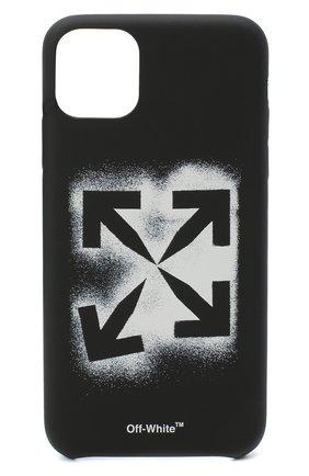 Мужской чехол для iphone 11 pro max OFF-WHITE черного цвета, арт. 0MPA019E20PLA0021001 | Фото 1