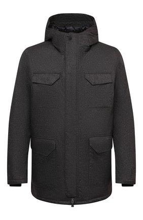 Мужская пуховая куртка HERNO темно-серого цвета, арт. PI161UL/12393 | Фото 1