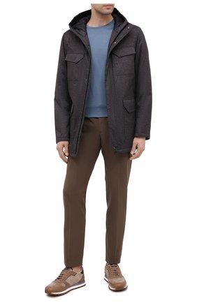 Мужская пуховая куртка HERNO темно-серого цвета, арт. PI161UL/12393 | Фото 2