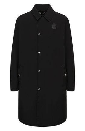 Мужской пальто BERLUTI черного цвета, арт. R180CL66-001   Фото 1