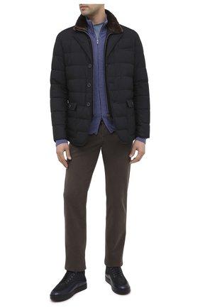 Мужская пуховая куртка HERNO темно-синего цвета, арт. PI0641U/13220 | Фото 2