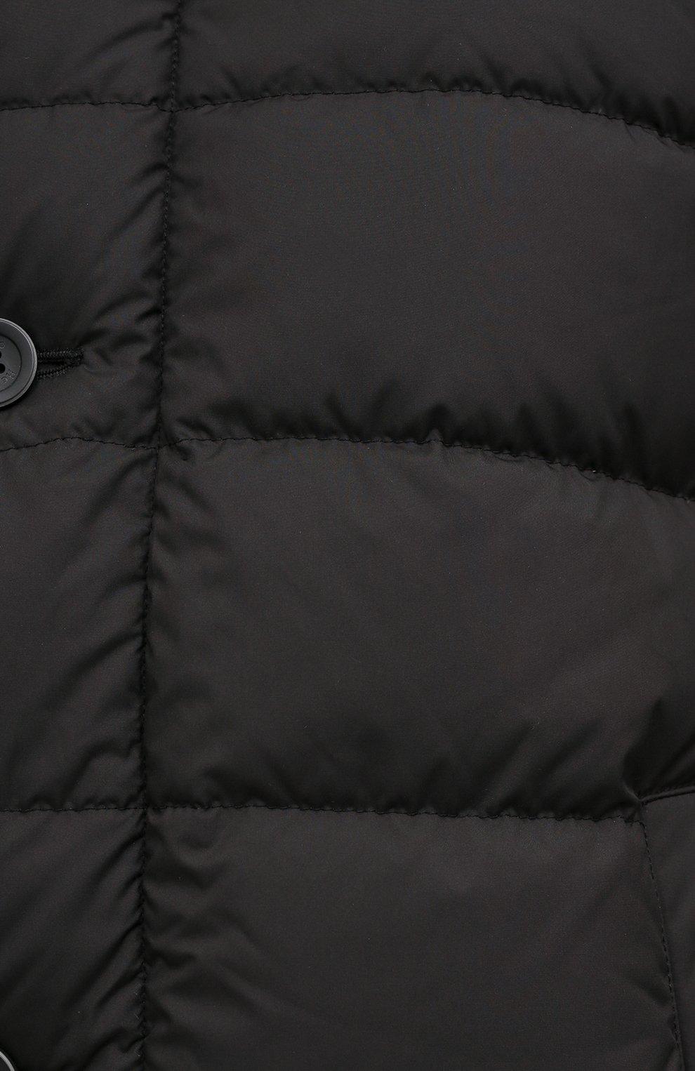 Мужская пуховик HERNO черного цвета, арт. PI0642U/13220   Фото 6
