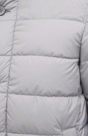 Мужская пуховик HERNO серого цвета, арт. PI0642U/13220 | Фото 6