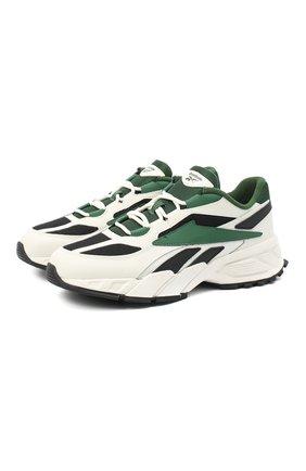 Мужские комбинированные кроссовки evzn REEBOK белого цвета, арт. FV7928 | Фото 1