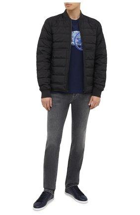 Мужская хлопковая футболка JACOB COHEN темно-синего цвета, арт. J4063 02228-L/54 | Фото 2