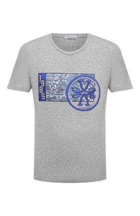 Мужская хлопковая футболка JACOB COHEN темно-серого цвета, арт. J4063 02228-L/54 | Фото 1