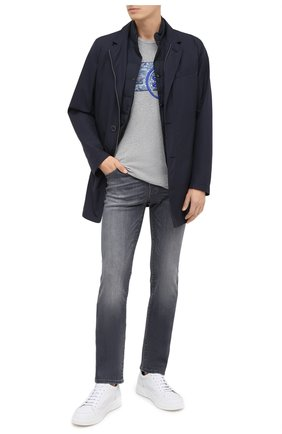 Мужские джинсы JACOB COHEN серого цвета, арт. J620 C0MF 01578-W2/54 | Фото 2
