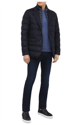 Мужские джинсы JACOB COHEN темно-синего цвета, арт. J688 C0MF 01826-W1/54 | Фото 2