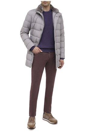 Мужские джинсы JACOB COHEN бордового цвета, арт. J688 C0MF 02103-Z/54 | Фото 2