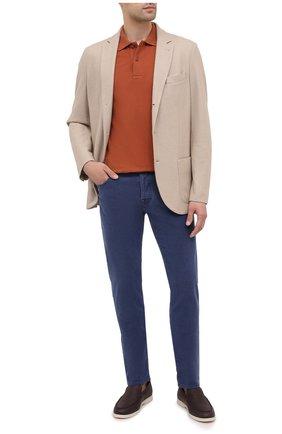 Мужские джинсы JACOB COHEN темно-синего цвета, арт. J688 C0MF 02103-Z/54 | Фото 2