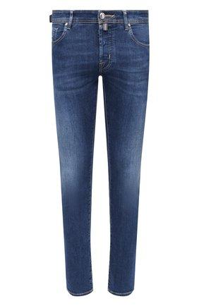 Мужские джинсы JACOB COHEN синего цвета, арт. J688 LIMITED C0MF 08792-W2/54 | Фото 1