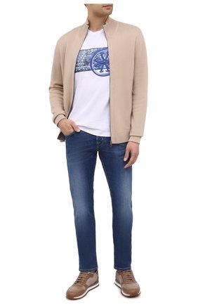 Мужские джинсы JACOB COHEN синего цвета, арт. J688 LIMITED C0MF 08792-W2/54 | Фото 2