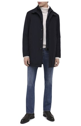 Мужской утепленный плащ KIRED темно-синего цвета, арт. WP0RDW7200002004 | Фото 2
