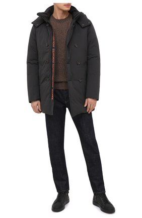 Мужская пуховик KIRED черного цвета, арт. WRUHRLW6806522002 | Фото 2