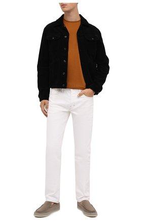 Мужская хлопковая куртка TOM FORD черного цвета, арт. BVJ19/TFD116 | Фото 2