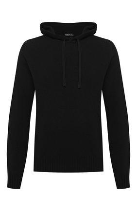 Мужской кашемировый свитер TOM FORD черного цвета, арт. BVK75/TFK314   Фото 1