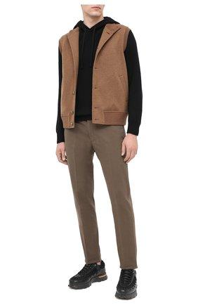 Мужской кашемировый свитер TOM FORD черного цвета, арт. BVK75/TFK314   Фото 2