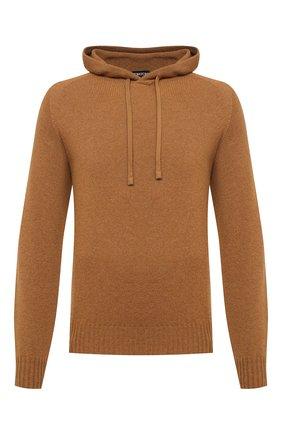 Мужской кашемировый свитер TOM FORD темно-бежевого цвета, арт. BVK75/TFK314 | Фото 1