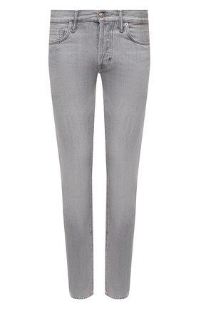 Мужские джинсы TOM FORD светло-серого цвета, арт. BVJ26/TFD002 | Фото 1