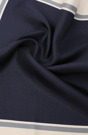 Мужской шелковый платок TOM FORD темно-синего цвета, арт. 8TF96/TF312 | Фото 2