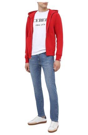 Мужские джинсы ICEBERG синего цвета, арт. 20I I1P0/2204/6006 | Фото 2