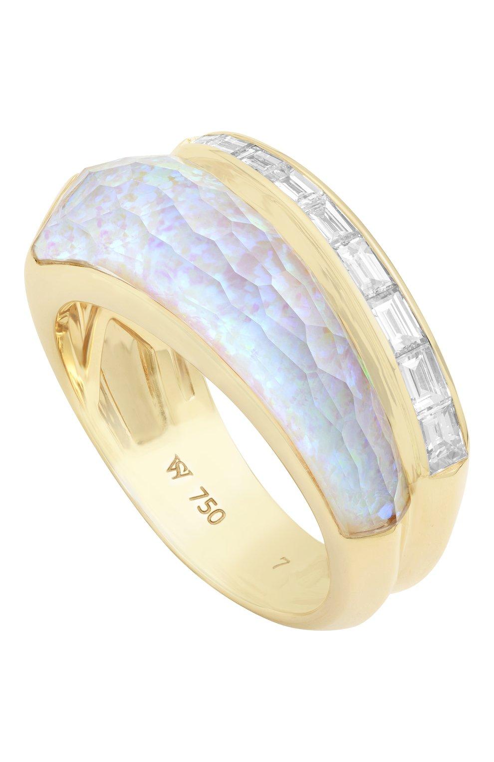 Женские кольцо STEPHEN WEBSTER желтого золота цвета, арт. 3022047   Фото 1