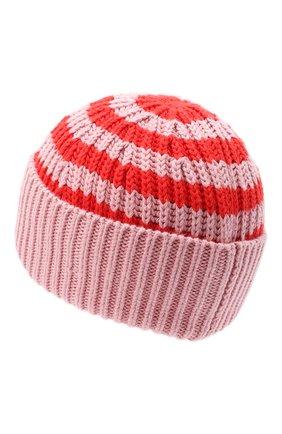 Детского хлопковая шапка STELLA MCCARTNEY розового цвета, арт. 601374/SPM10 | Фото 2