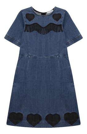 Детское джинсовое платье STELLA MCCARTNEY синего цвета, арт. 601323/SPK13 | Фото 1
