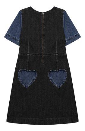 Детское джинсовое платье STELLA MCCARTNEY синего цвета, арт. 601323/SPK13   Фото 2