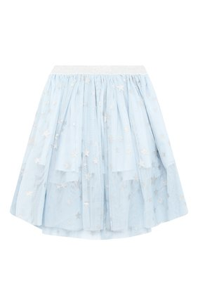 Детская юбка STELLA MCCARTNEY голубого цвета, арт. 601283/SPKB1 | Фото 2